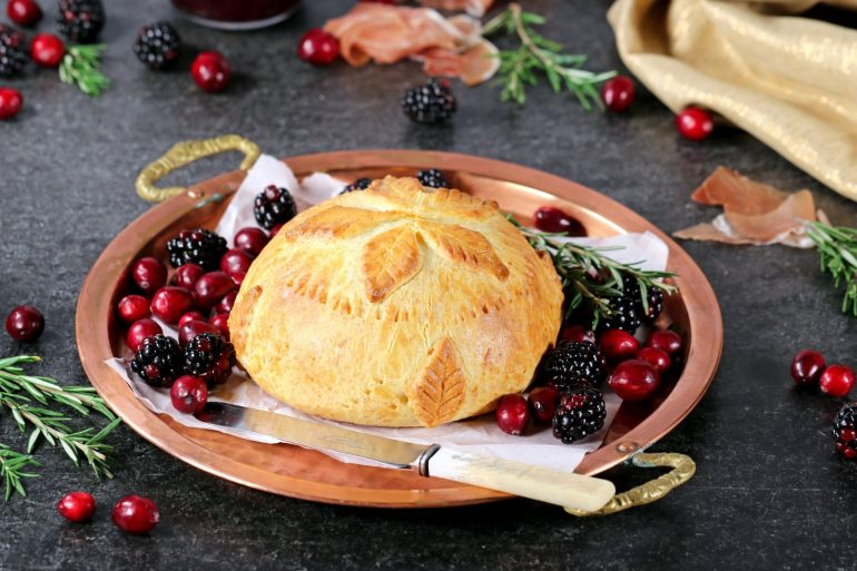 FULLY COOKED BAKED BRIE