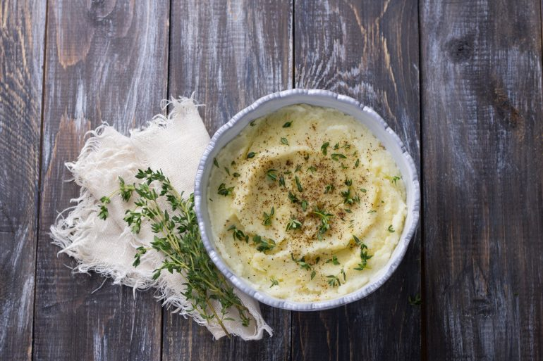 instant mashed potatoes hack
