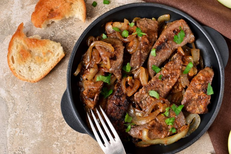 Liver and onions - Superfood dinner