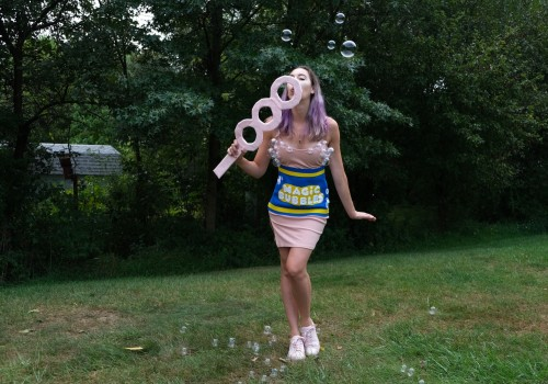 This DIY Halloween costume is unbelieva-bubble
